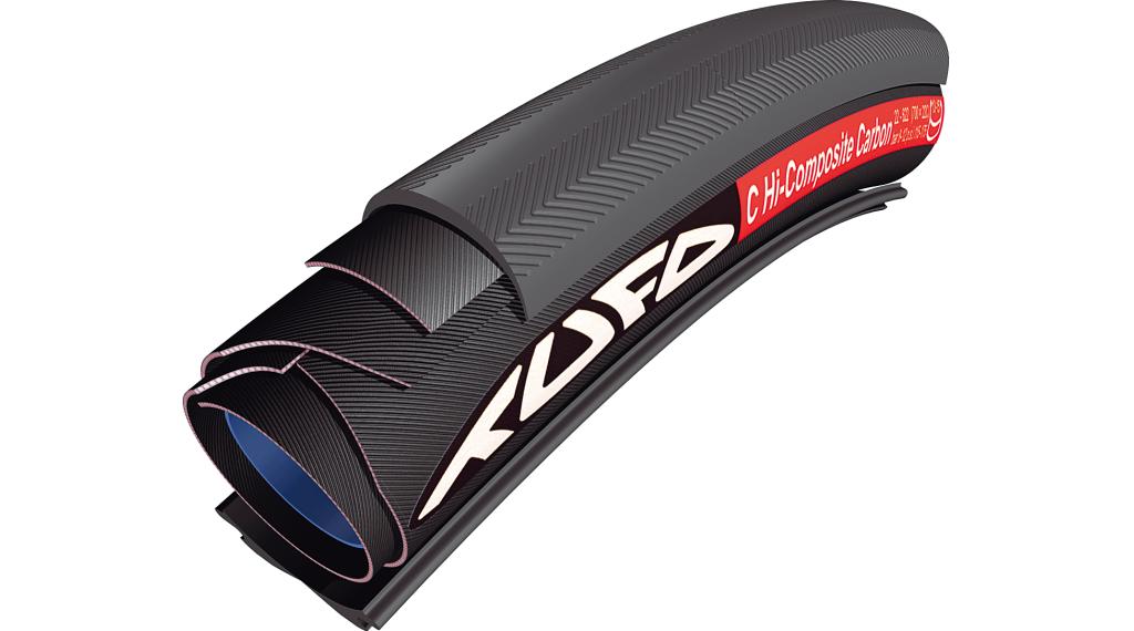 Tufo C Hi-Composite Carbon 25 Road Schlauchreifen für Drahtfelgen 28x25mm 120tpi schwarz
