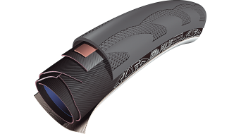 Tufo Elite Pulse 25 Triathlon cubierta tubular 28x25mm 210tpi negro(-a)