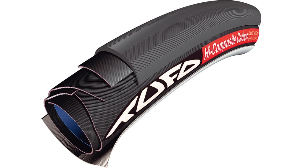 Tufo Hi-Composite Carbon 25 Road Schlauchreifen 28x25mm 120tpi schwarz