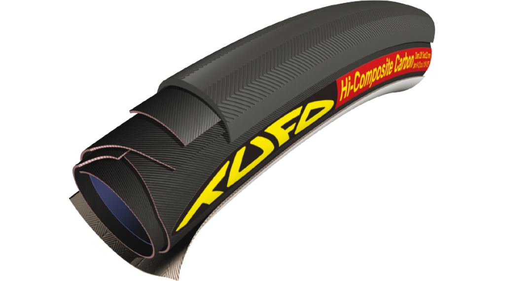 Tufo Hi-Composite Carbon Road Schlauchreifen 28x23mm 120tpi schwarz