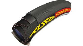 Tufo Hi-Composite karbon Road tömlőabroncs 28x23mm 120tpi fekete