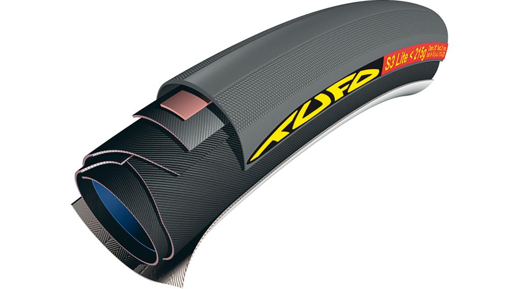 Tufo S3 Lite <215G Road Schlauchreifen 28x21mm 120tpi schwarz
