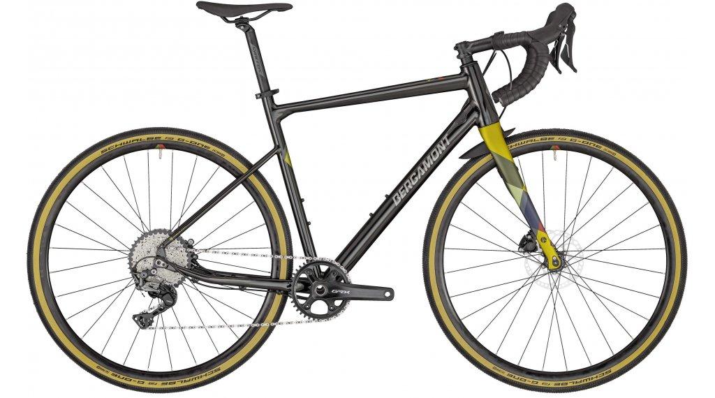 "Bergamont Grandurance 6 28"" Gravelbike bici completa mis. 55 cm ogiva verde/nero/oro (opaco/shiny) mod. 2020"