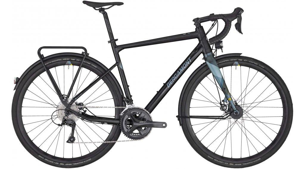 "Bergamont Grandurance RD 5 28"" Gravelbike bici completa mis. 55cm flaky anthracite/powder blu (opaco) mod. 2020"
