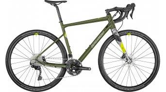 "Bergamont Grandurance_6 28"" Gravel bici completa mis._57cm army_verde/chrome/neon_giallo mod. 2021"