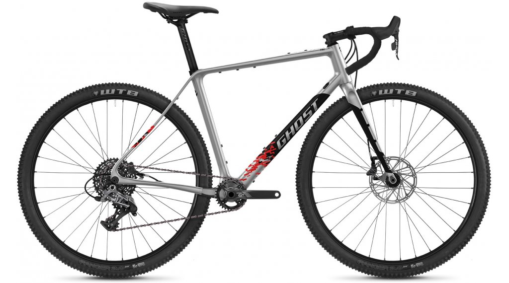 Ghost Road Rage Fire Advanced 29 Gravel bike size XS silver/black 2021