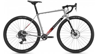 Ghost Road Rage Fire Advanced 29 Gravel bici completa . argento/nero mod. 2021