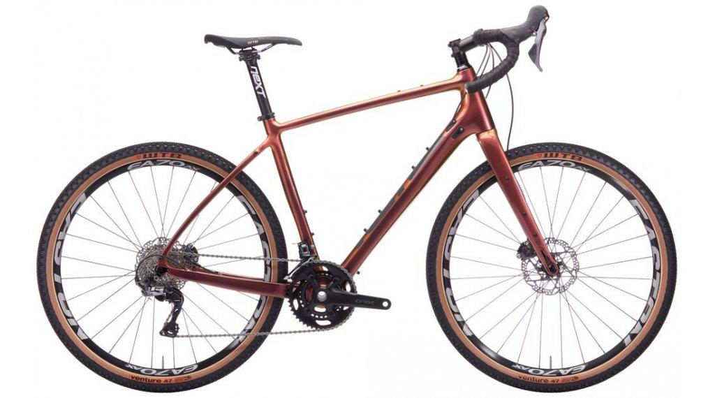 "Kona Libre DL 27,5"" Gravelbike Komplettrad Gr. 46cm prism rust purple Mod. 2020"
