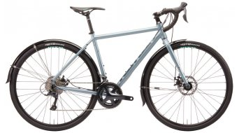 "KONA Rove DL 28"" Gravel bike bike metallic silver-gray 2020"