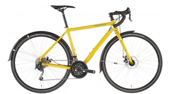 "KONA Sutra AL SE 28"" Gravel bike gloss mustard/bark chalk decals 2021"