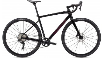 Specialized Diverge E5 Comp 28 Gravel bike gloss tarmac black/satin maroon/Chrome 2021