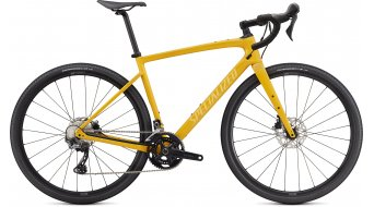 Specialized Diverge Sport carbon 28 Gravel bike gloss brassy yellow/sun set yellow/Chrome 2021