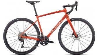 "Specialized Diverge Elite E5 28"" Gravel bike size_54cm_satin_redwood/gloss_white/Chrome/clean 2022"