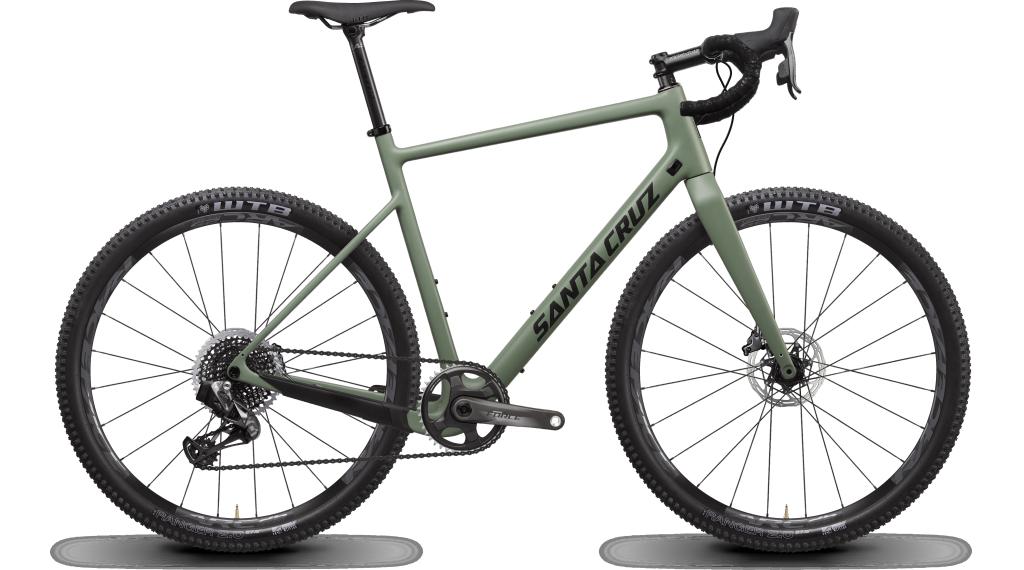 "Santa Cruz Stigmata 3 CC 27.5"" Gravelbike bici completa Force AXS- kit mis. 54cm per verde mod. 2020"