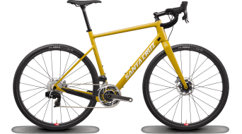 "Santa Cruz Stigmata 3 CC 28"" Gravel bike bike Red AXS- kit/Reserve- wheels size 54cm mustard 2020"