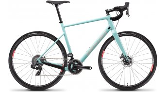 Santa Cruz Stigmata 3 CC 28 Gravel bike Force AXS-2X- kit size XL (58cm) moonstone blue 2021