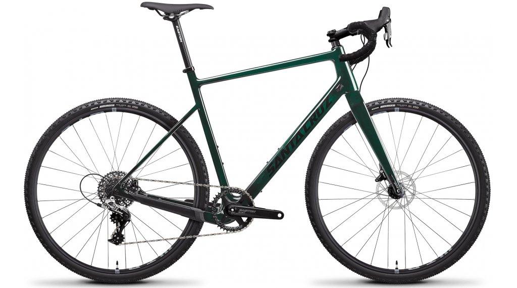 Santa Cruz Stigmata 3 CC 28 Gravel Komplettrad Rival-Kit Gr. S (52cm) midnight green Mod. 2021