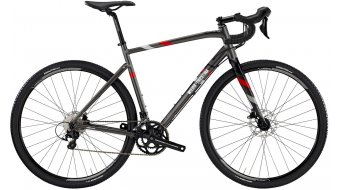 "Wilier Jareen Hydro 28"" Gravelbike fiets Shimano 105/Wilier 28DD dark grey/red mat model 2020"