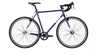 All City Nature Boy cyclocrosser Gr. purple/white