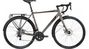 Bergamont Prime CX RD Cyclocross Komplettrad Herren-Rad lava grey/black/red Mod. 2016
