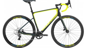 Bergamont Prime CX Team Carbon 28 Cyclocross Komplettrad Gr. 57cm black/neon yellow/cyan (matt) Mod. 2017