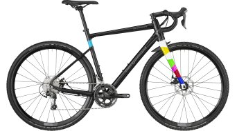 "Bergamont G countour urance CX 6.0 28"" Cyclocross bike black/dark silver/turquoise (matt/shiny) 2018"