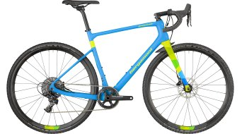 "Bergamont Grandurance CX Team Carbon 28"" Cyclocross Komplettrad cyan/neon yellow (matt) Mod. 2018"