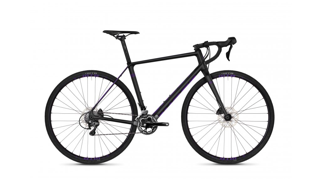 "Ghost Violent Road Rage 5.8 LC en 28"" cyclocrosser fiets maat XL night black/Ultra violet model 2019"