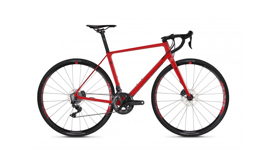 """Ghost Violent Road Rage 7.8 LC U 28"""" Cyclocrosser vélo taille M riot red/night black Mod. 2019"""