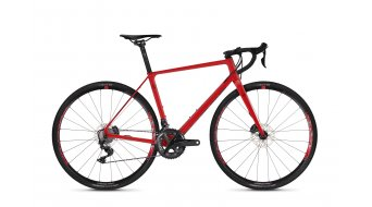 "Ghost Violent Road Rage 7.8 LC U 28"" bici da ciclocorss bici completa . riot red/night black mod. 2019"