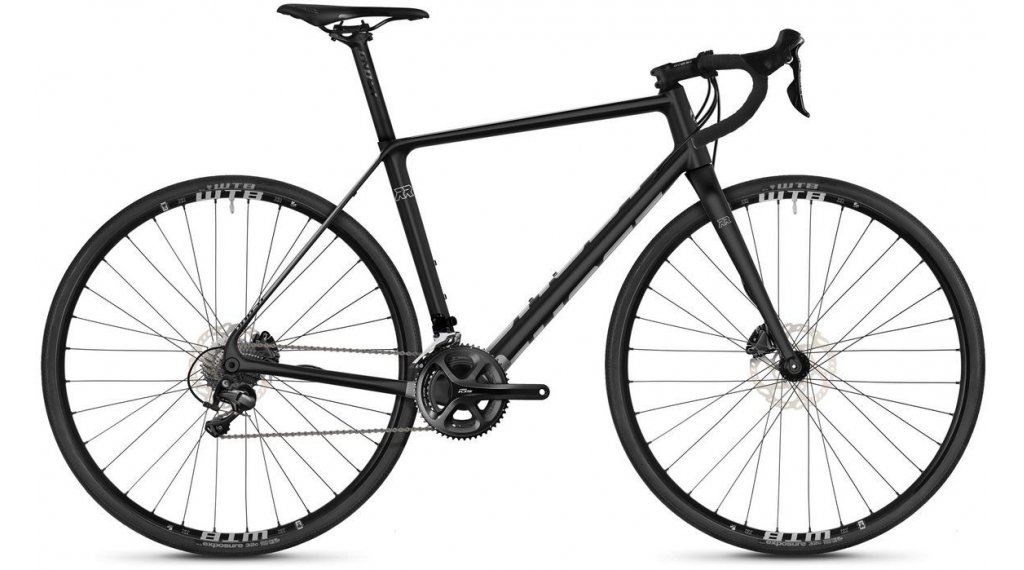 "Ghost 公路赛车 Rage 2.8 LC U 28"" Cyclocrosser 整车 型号 XS jet black/iridium silver 款型 2019"