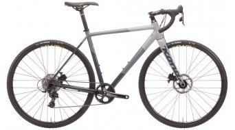 "Kona Jake the Snake 28"" Cyclocross Komplettrad charcoal/gray/chalk Mod. 2020"