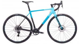 "KONA Major Jake 28"" Cyclocross Komplettrad lead powder/dark cyan model 2020"