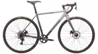 """KONA Jake the Snake 28"""" Cyclocross bike size 58cm charcoal/gray/chalk 2020-Demo Item- LACKSCHADEN down tube"""