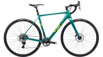 KONA Major Snake 28 Cyclocross Komplettrad gloss metallic green model 2021