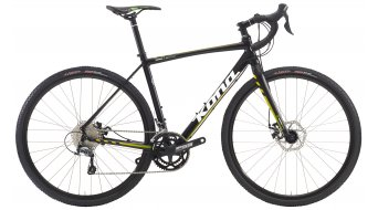 KONA Jake bike black/yellow/green 2016