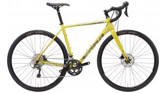 "KONA Jake the Snake 28"" bike gloss yellow/charcoal & blue decals 2018"