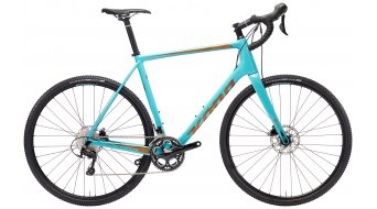 "KONA Major Jake 28"" bike gloss aqua/copper decals 2018"