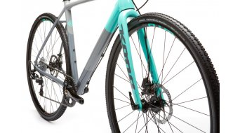 Kona Jake the Snake 700 Cyclocross Komplettrad Gr. 54 dark grey and mint green Mod. 2019