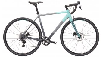 KONA Jake the Snake 700 bici da ciclocorss . dark grey and mint green mod. 2019