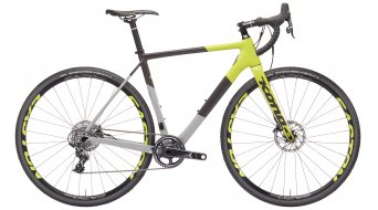 Kona Super Jake Cyclocrocsatlakozó komplett kerékpár grey charcoal and yellow 2019 Modell