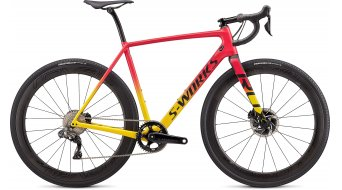 "Specialized S-Works Crux Di2 28"" Cyclocross bike size 56cm gloss golden yellow/vivid pink/black 2020"