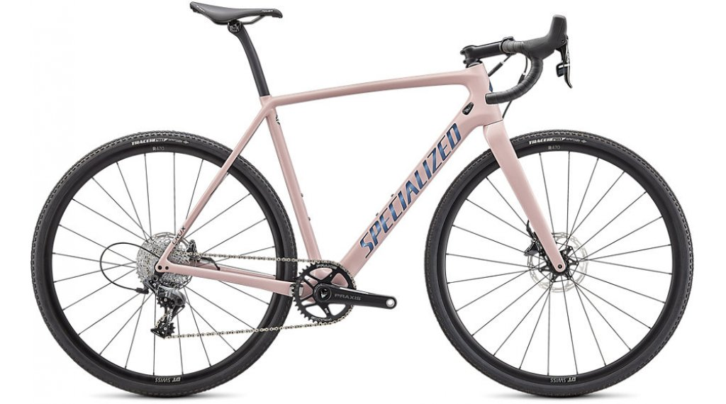 Specialized Crux Comp 28 bici da ciclocorss mis. 54cm blush/cast blu  metallico mod. 2021