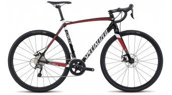 Specialized Crux E5 28 cyclocrosser fiets Gr. 46cm tarmac black/flo red/metallic white model 2017