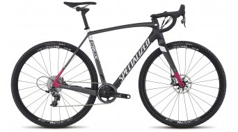 Specialized Crux Expert X1 28 Cyclocrosser vélo taille 58cm carbone/charcoal/bright rose Mod. 2017