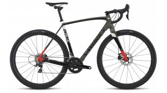 Specialized S-Works Crux 28 Cyclocrosser Komplettrad oak green/tarmac black/rocket red Mod. 2017