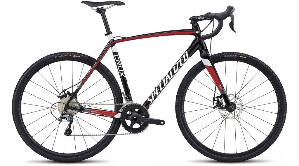 Specialized Crux E5 28 cyclocrosser fiets Gr. 56cm tarmac black/flo red/metallic white model 2018