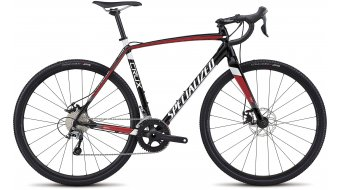 Specialized Crux E5 28 cyclocrosser fiets Gr. 56cm tarmac black/flo red/metallic white model 2018