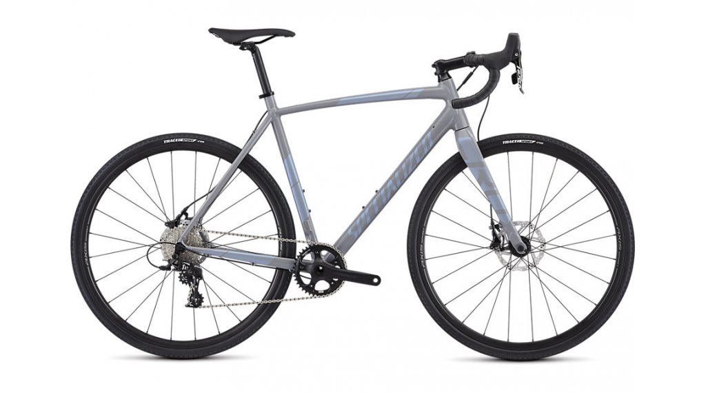 """Specialized Crux E5 Sport 28"""" Cyclocrosser Komplettrad Gr. 52 cool gray/blue ghost pearl Mod. 2019"""