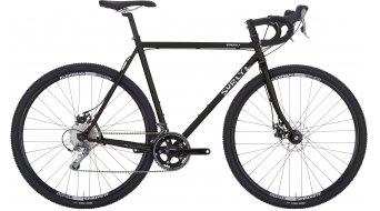 Surly Straggler 700C Cyclocrocsatlakozó komplett kerékpár Méret 52cm closzett black 2016 Modell